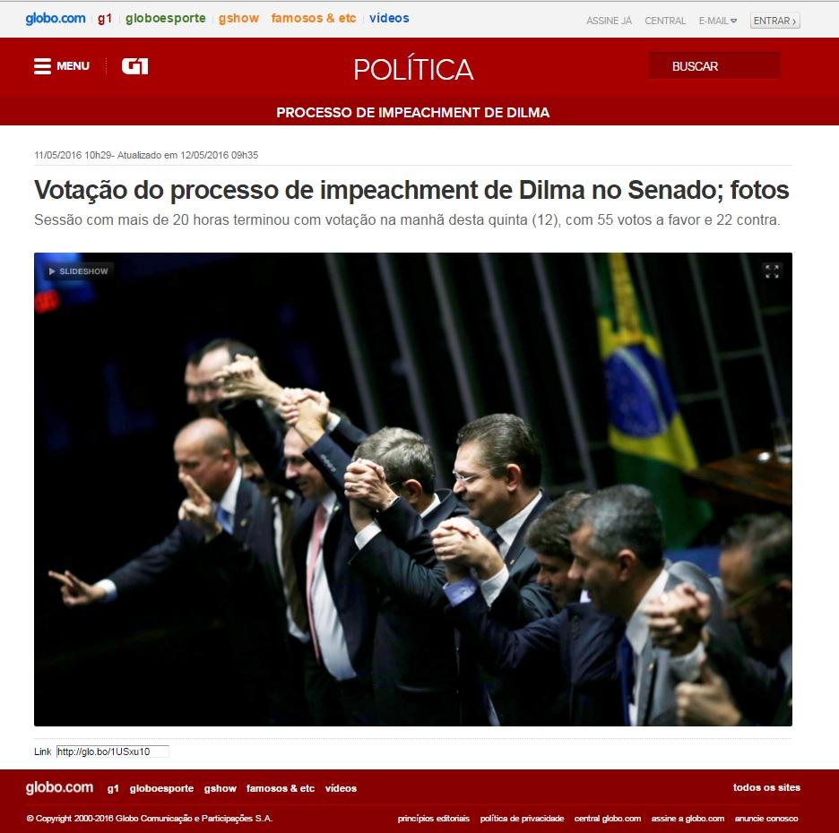 G!- impeachmente - 11-05-2016