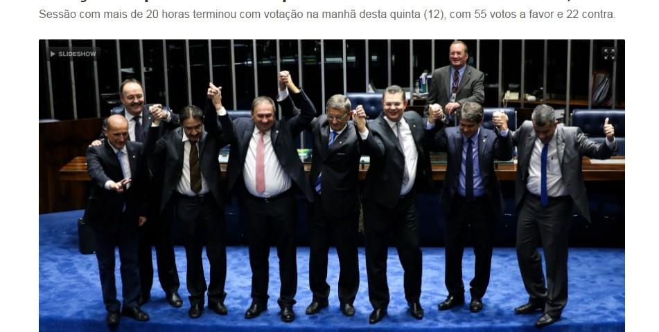 G1- impeachmente - 11-05-2016